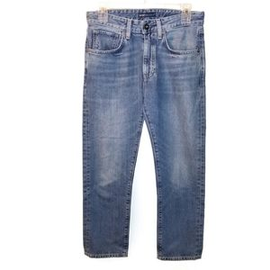 Levi's Sz 27x24 Slim Crop MADE AND CRAFTED Jeans